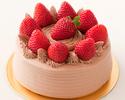 いちごショートケーキ:生チョコクリーム(直径12㎝/4~6カット)