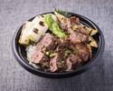 【テイクアウト専用】16:00~20:00<牛ロースステーキ丼>●一番人気商品●