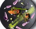 【Menu SAKURA Diner】全10皿フォアグラ・オマール海老使用+乾杯ドリンク1杯付き