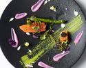 【Menu SAKURA Diner】全10皿フォアグラ・オマール海老使用+全10皿+乾杯ドリンク1杯付き+期間限定桜マカロン付き(個室確約)