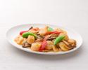テイクアウト25.ホタテと野菜のオイスターソース炒め