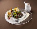 期間限定応援プラン【プリフィックスコース】+60分フリーフロー(お好きな料理3皿)
