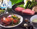 Japanese 2 major brands KOBE & MATSUZAKA BEEF eating comparison course