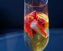 【Dessert Cafe】アフタヌーンティーセット(シャンパン+苺★)