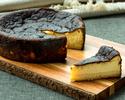 【1/4カット】バスク風チーズケーキ