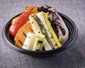 【テイクアウト専用】16:00~20:00<野菜のグリル バーニャカウダソース添え>