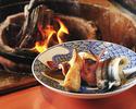 囲炉裏で楽しむ春の宴
