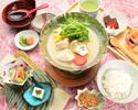 名物水炊き膳5,000円(税サ込)