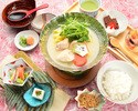 名物水炊き膳7000円(税サ込)