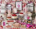 『3月ストロベリーホリック~Barbie in Paris~ 』いちご飴、桜ムース、桜タルトが新登場!(土日祝/子供)