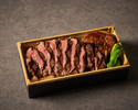 匠 特製ステーキ重〈黒毛和牛のフィレのロッシーニ〉