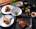 【ディナー】◆夕凪-Yunagi-◆ メインのお肉は『神戸牛サーロイン』旬の前菜や季節ご飯デザートも♪  ★ネット予約特典8%OFF★