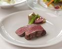 【銀座レストランウィーク】1ドリンク付きアンガス牛プライムフィレのビステッカコース