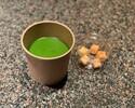 【ニューヨーク グリル】ローストケールと小松菜 ほうれん草のスープ