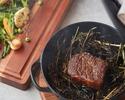 黒毛和牛含む大満足のNAMIKI667ディナーセット5品+乾杯シャンパン