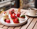 【Strawberry Cake Set】+乾杯シャンパン