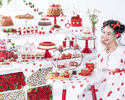 Strawberry Afternoon tea set with buffet (Adult)