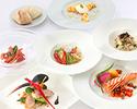 【MANGIARE DINNER+乾杯スパークリングワイン】季節野菜を使用した前菜や選べるメイン等全4品プリフィクスディナー