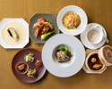 【Dinner Online Special】Special 7 dinner course with 2 glass of drinks!