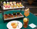 【苺のアフタヌーンティーセット】ガトー6種&セイボリー4種&紅茶飲み放題+1ドリンク