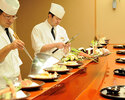 Tempura entrusted course [Lunch time Saturday and Sunday only] * Meals at the tempura counter