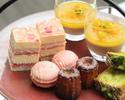 SAKURA Afternoon tea アルコールフリーフロー付 2営業日前までの予約制