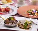 牛ロースと阿波尾鶏の炙りのディナーコース