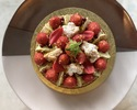 Fresh Japanese Strawberry & Pistachio Tart