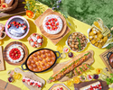 [Advance payment dessert buffet] Holiday Children Girl's Sweets Camping