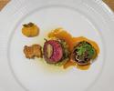 【ディナー】四季のコース~Food Sustainability~+ワインペアリングプラン