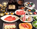 【スタンダードコース全10品】◆人気の元祖焦がしタレ肉土鍋付◆