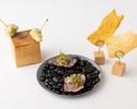 【CHEF'S COURSE 12000YEN】料理長市原の季節のスペシャルコース