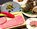 [Limited time offer] Popular foie gras, live abalone & finest Moriya carefully selected beef course