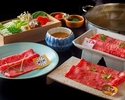 [Regular price (dinner)] Special beef shabu-shabu [3kind of beef] 28,589 yen