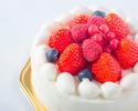 【オプション】苺のショートケーキ(ホール:丸型 12cm)