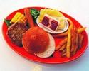 Lass uns meinen Burger machen! [KIDS BBQ Set] ¥ 850 (Eintrittspreis nicht inbegriffen)