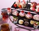 【ストロベリーフェア】イチゴたっぷり幸せスイーツ&9種類ものTWG Tea!アフタヌーンティーセット(1月~5月開催)