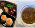 【T.O.】フカヒレ入り3種食材スープ付き!黒酢すぶた弁当