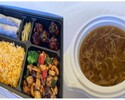 【T.O.】フカヒレ入り3種食材料スープ付き!北京ダック弁当
