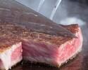 4/1-鉄板焼ランチ「笛」帆立と旬魚に季節のサラダ、メインは黒毛和牛!