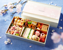 【Take Out】 Sakura Picnic Set in a Cooler Bag with Rose Sparkling Wine (Half Bottle)