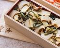 Advanced Purchase [Unkai] Takeout Rice cooked with Bamboo shoots, Abalone and Naruto wakame seaweed 11,340 yen