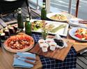 【平日はちょっとお得に500円OFF】当日予約OK!春のお集まりにもオススメのGARBのParty Plan 前菜からデザートまで全8品★120分飲み放題付き!