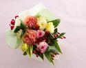 ★【オプション】季節の花束¥5,500