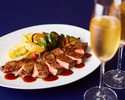 【Anniversary Course】 アニバーサリーデザート付 全7品+乾杯スパークリング(魚&肉料理Wメイン) 4/1~