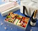【Take Out】 Sakura Picnic Set in a Cooler Bag with Peninsula Champagne(Half Bottle)