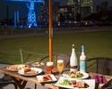 【東京湾を眺められる開放的なテラス席/店内席で春を満喫。】自社輸入ベルギービール3種付き2h飲み放題春のオープンテラススタンダートコース
