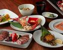 【Dinner Official Online with Bonus Welcome Drink!】Enjoy Japanese Abalone, Keyakizaka beef! Keyakizaka Dinner C with a glass of Champagne!