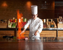 【Dinner Official Online with Bonus Welcome Drink!】Enjoy Japanese Abalone, Ishigaki beef! Keyakizaka Dinner D with a glass of Champagne!