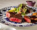 炉窯炭火焼 厳選黒毛和牛シャトーブリアン・サーロイン・近江牛舌 食べ比べコース